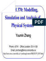 Physical Systems Modelling