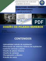Diseño de pilares mineros