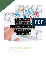 Guía de Redes Sociales - Designseo 2018