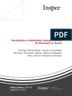 Impacto Ensino Superior Trabalho Renda Municipios Brasileiros
