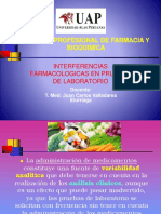 Interferencias farmacológicas en pruebas de laboratorio.pptx