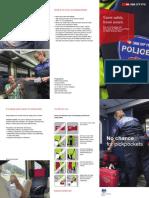 En SBB Prospekt Transportpolizei