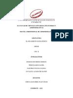Actividad N 6 Actividad de Investigación Formativa - Revisión Informe de Tesis