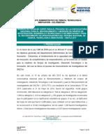 Terminos Referencia Convocatoria Grupos Investigacion e Investigadores 2017 Consulta