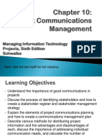 10_Project Communications Management