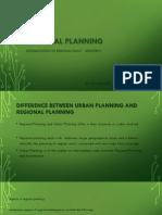 Regional Planning Implementation