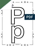 KIT Alfabeto para niños - Letra P