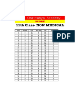11th Class Non Medical Final Answer Key.xlsx