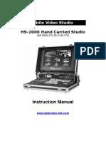 Datavideo HS 2000