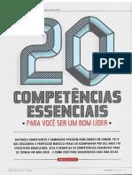20 competências essenciais bom líder