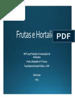 Aula Frutas e Hortaliças 2015