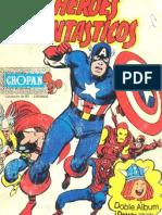 Album Cropan Original Heroes Marvel