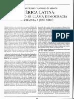 Aricó, J - AL, El Destino Se Llama Democracia (Entrevista)