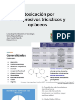 Intoxicación Por Antidepresivos Triciclicos y Opiaceos