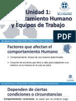 Comportamiento Humano y Equipos de Trabajo