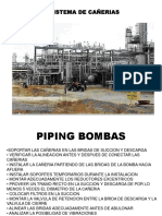 Piping Sist Bomb as Centri Fu Gas