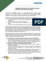 SECUNDARIA-Clase 10 - Sugerencias y Estrategias de Intervención Ante Situaciones de Consumo de Sustancias