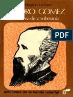 Leandro Gomez.la Defensa de La Soberania