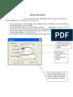 Apos and Hain IP Addresses