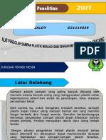 137544979 Limbah Plastik Jadi Bbm PDF