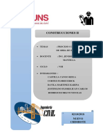 Informe Final - Obra Red de Alcantarillado - Rinconada