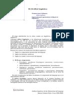 .DEFICIT Linguistico y de Los Componentes.
