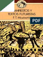 Marinetti FT Manifiestos y Textos Futuristas (p33)