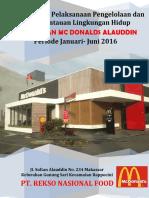 Sampul Mc Donalds Alauddin 2016