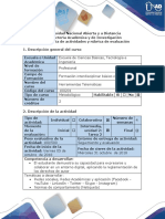 Guia de Actividades y Rubrica de Evaluacion Tarea 2