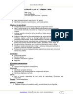 Planificacion Lenguaje 6basico Semana9 Abril 2013
