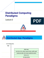 Distributed Computing Paradigms L2