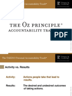 OZ Accountability Training PowerPoint