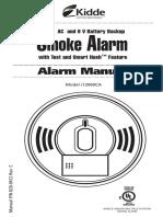 i12060CA UserGuide en Kidde Smoke Detector