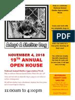 Jefferson County Dog Shelter open house Nov. 4, 2018