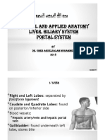 (2) GIT(2) - Anatomy of Liver & Biliary System