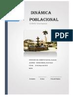 Dinamica Poblacional - CHACHAPOYAS