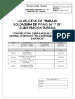 Instructivo de Soldadura PSO-006-InS001 V1