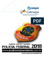 Caderno com 500 Questões - PF 2018 (CESPE) 01.pdf