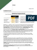 3Q18 Caterpillar Inc. Results