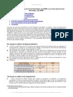 Comparacion Ley Procesal Del Trabajo Ley 26636 y Nueva Ley Procesal Del Trabajo Ley 29497