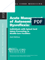 acute management of autonomic dysreflexia