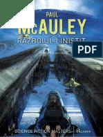 Paul McAuley - Razboiul linistit