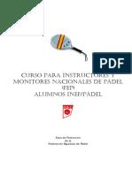 Manual de monitor de padel