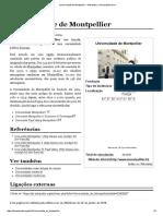Universidade de Montpellier