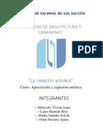 La Creacion Artistica1