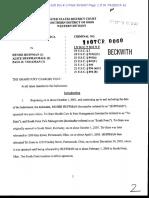 Dr. Paul Volkman Indictment