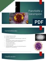 Parotiditis y Sarampión