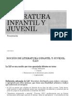 Literatura Infantil y Juvenil. Conceptos Basicos