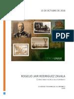 Estructura Política Durante El Porfiriato.