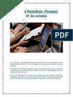Día Del Periodista Peruano